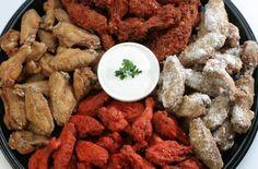 WingStop Chicken Wings; lemon pepper! mmm