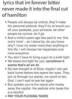 Ok but the one about Eliza that's obviously from the world was wide enough…