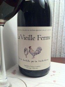 2012 La Vieille Ferme Vin Rouge, Ventoux, France Wine of the Week December 12, 2013 on www.eatsomethingsexy.com