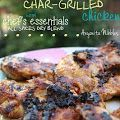 Chef's Essentials: Marinated Char-Grilled Chicken + A Foodie Giveaway