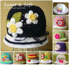 Sweet & Soft: GORROS Y SOMBREROS