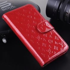 LV Red iPhone 6+ Wallet Case Brand new!! Louis Vuitton Accessories Phone Cases