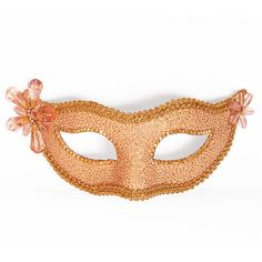 Light Pink / Nude And Gold Masquerade Mask - Glitter Venetian Mask... (55 CAD) ❤ liked on Polyvore featuring costumes, mask, accessories, masquerade, womens halloween costumes, carnival costumes, party costumes, glitter costume и party halloween costumes