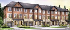 #glow #townhomes is a new condo development project by Context Development and  Metropia .  Presently   in  preconstruction at Allan Rd and Lawrence in Toronto.