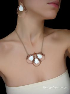 Copper set with mother-of-pearl | Flickr - Photo Sharing!