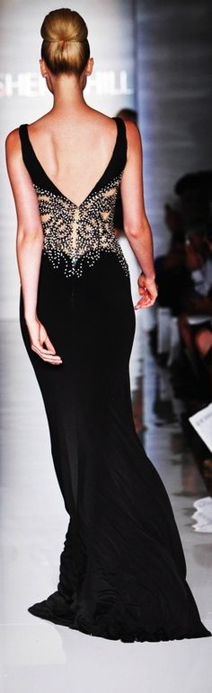 """Beautiful detail and breathtaking backs are """"in"""" @ 2014, via http://newfashiontrendsonline.blogspot.com #CocktailDress"""