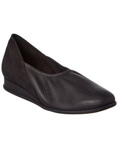 Arche Piazza Leather Flat 39 Black >>> Visit the image link more details. Note:It is Affiliate Link to Amazon.