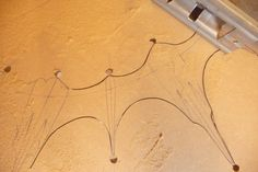 A close up on the sawing - yes just a simple jig saw and fine blade - you too can create something as ornate as this...!