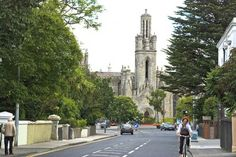 Our village in suburbs of Dublin. Dun Laoghaire is a 15 min walk. Dublin city is 35 min by bus or 20 mins train Church Of Ireland, Dublin City, St Patrick, Past, Street View, Train, Country, Past Tense, Rural Area