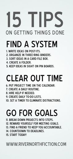 tips to succeed