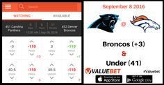 NFL 2016 Opening Day - Carolina Panthers at Denver Broncos