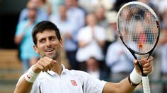 Djokovic at Wimbledon 2013