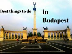Budapest is one of the most stunning cities in Europe. If you are planing a trip to Budapest don't miss these seven activities! Budapest Things To Do In, France Travel, Travel Europe, European Travel, Cities In Europe, European Destination, Budapest Hungary, Future Travel, Macedonia