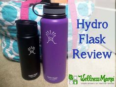 Hydro Flask Review - I recently tried the Hydro Flask water bottle and liked how cold it kept water, homemade kombucha and juice and how hot it kept herbal tea and coffee.