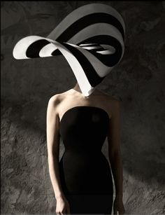Philip Treacy: A true creative. I interned one summer in Belgravia with PT.