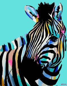 Buy online a Limited Edition Art Print of an original Anya Brock painting. Abstract Animal Art, Animal Art Projects, Art Pictures, Art Inspo, Art For Kids, Art Drawings, Contemporary Art, Art Prints, Illustration
