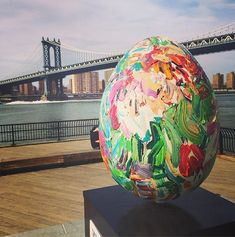 The best of the artist-designed eggs from the Big Egg Hunt NY. Every one is amazing. Happy Easter everyone!