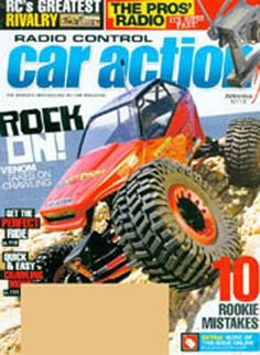 Radio Control Car Action, 12 issues for 1 year