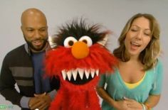 """Common & Colbie Caillat calm the monster within doing """"Belly Breathe"""" with Elmo! Fun song :)  Free mp3: http://soundcloud.com/omazing-kids-yoga/common-and-colbie-caillat"""