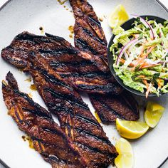 This succulent recipe is based on bulgogi, a classic Korean dish of sliced beef that's marinated in soy sauce, sugar, sesame oil and garlic, then gril...