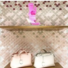 R E T A I L  T H E R A P Y  Such a stunning installation of PLUMAGE designed in an ombré bespoke Mosaic for Fendi in Tokyo. Come in to check out this gorgeous range exclusive Australia wide to us at The Most Beautiful Tile Store in Australia 256 High St Prahran  #byzantinedesign #256highstprahran #marble #tumbledmarble #pink #handmadetiles #pinkmarble @botteganove #pinktiles #luxe #luxury #blackmosaics #encaustics #interiors #interiordesign #greenmarble #interiorstyling #interdesignmelbourne…