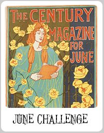 """""""Literary Poster for the Century Magazine"""", 1896 by John Louis Rhead. ::  Please put JUN ABS on your submission as Pinterest does not keep entries in order."""