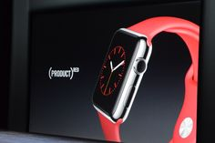 WOW. Today Apple announced a @RED #AppleWatch. Thank you Apple for being leaders in the fight against AIDS.