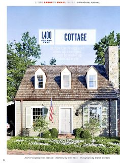 cottage in birmingham we saw on the MLS last year and then in magazine.  love the colors - was thinking of this for the outside of my house.  until we held off on painiting the exterior...