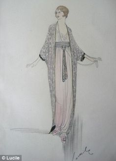 Downton Abbey influences surge in vintage nightwear sales - the costumes & the female form inspire draping beautiful fabrics to create feminine silhouettes w/ lux details