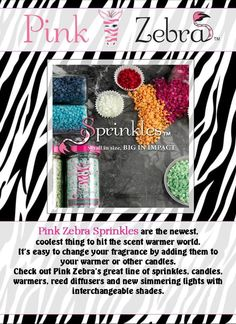 Contact me if your interested in learning more or ordering Pink Zebra home parties!! http://www.pinkzebrahome.com/jessicastoltenberg