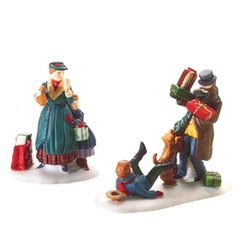 "Department 56: Products - ""Don't Drop The Presents!"" - View Accessories Wish list"