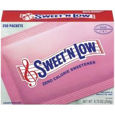 Sweet'N Low Packet Box $0.50 Off With Printable Coupon!