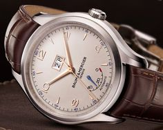 Baume & Mercier Clifton Big Date and Power Reserve beauty shot