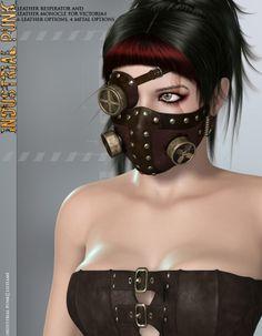 industrial punk clothing | Runtime DNA Inc. :: Figures :: DAZ Females :: V4 Clothing ...