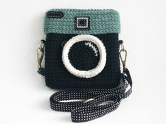Crochet Diana Original Purse Size 6 inch by meemanan on Etsy, $28.00