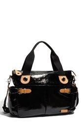 Storksak 'Kate' Patent Diaper Bag