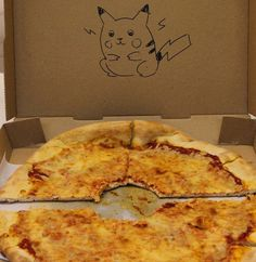 pizza box drawings requests - I wonder if anyone around here actually does this :P