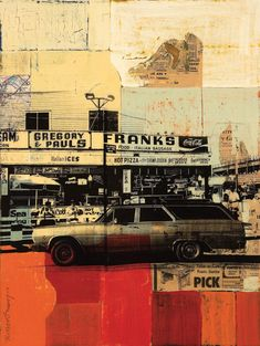 Robert Mars  Franks 2007  24'' x 18''  Mixed Media