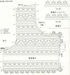 двойное вязание крючком схемы - Bing Изображения