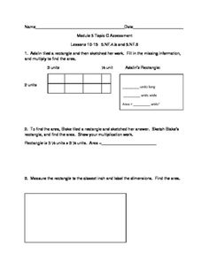 5th Grade EngageNY/Eureka Math Module 2 Topic F Quiz/Review