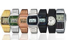 Puntualità e stile vanno di pari passo grazie a questi numerosi modelli di orologi marchiati Casio