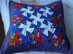 Love the Li'l Twister quilts - simple echoing works fabulous with them