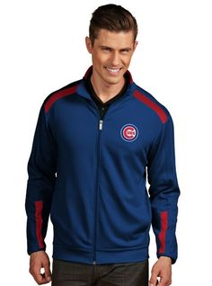 Mens Indianapolis Colts Antigua Royal Blue Tempest Full Zip Jacket