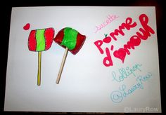 #lollipop #sucette #love #apple @LauryRow   Like my page here :: https://www.facebook.com/merveillesdetentesdelaury