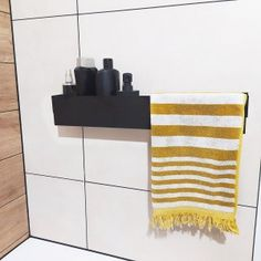 Akcesoria łazienkowe | N-LINE Towel, Blanket, Bathroom, Design, Washroom, Bath Room, Bathrooms, Rug
