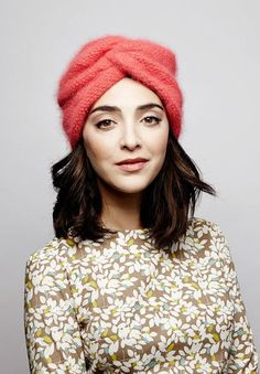 Knitted Turban Bonnet 2017 Street Style