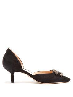 Dionysus kitten-heel suede pumps | Gucci | MATCHESFASHION.COM UK