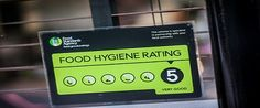 The Benefits of the National Food Hygiene Rating Scheme