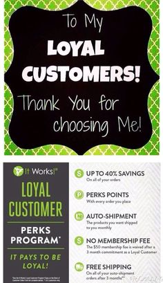 Thank you to all my Loyal Customers for believing in me and these amazing products. I would love to welcome 1 new loyal customer today to the It Works family. If you have been sitting the fence on trying our products, TODAY is the day Please call me directly at 702 672 3247 so we can chat!