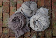 "45"" x 83"" 100% washed Kashmiri wool luxuriously oversized and cozy white, light, medium, or dark purchase/inquiry : 001-718-230-7672 susan@susanhahn.com"